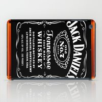 jack daniels iPad Cases featuring JACK DANIELS by Bilqis