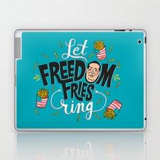 Let Freedom Fries Ring Laptop & iPad Skin