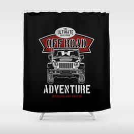 the ultimate off road Shower Curtain
