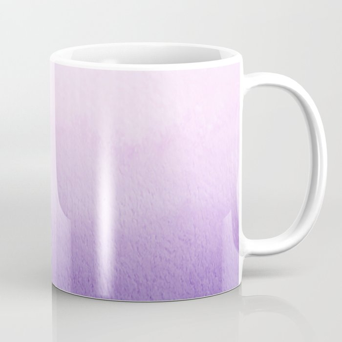 Purple Watercolor Design Coffee Mug