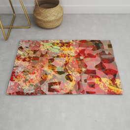 blood and gold Rug