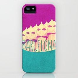 Barcelona Gaudi Paradise iPhone Case