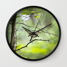 Spring Forest Wall Clock
