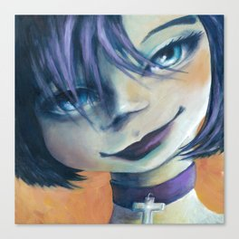 Z imagination Goth Girl Canvas Print