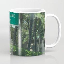 Urban signs in Hawaii Coffee Mug