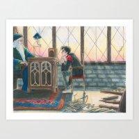 burdge Art Prints featuring Enough Responsibility by Burdge
