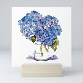Cape Cod Hydrangea Large Canvas Mini Art Print