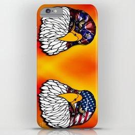 Confederate and Union Eagles iPhone Case