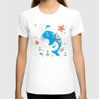 narwhal T-shirts featuring Narwhal & Babies  by Carly Watts