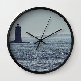 Whaleback Light Wall Clock