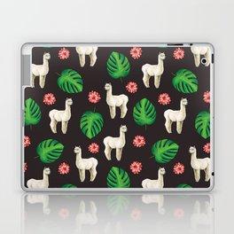 Monstera & llamas Laptop & iPad Skin