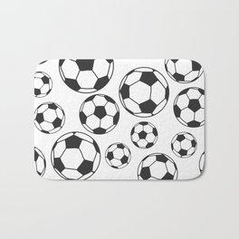 Soccer Balls Bath Mat