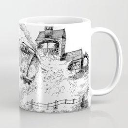 Au-Delà du Terminus / Beyond the End Station Coffee Mug