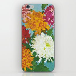 Chrysanthemums 3 iPhone Skin