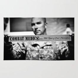 Combat Medics - We bury our mistakes Rug
