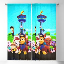 Assembled & Ready For Rescue! Blackout Curtain