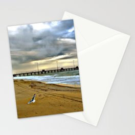 Day At The Beach HDR Photography Stationery Cards
