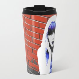 Ghost in the Alley Travel Mug