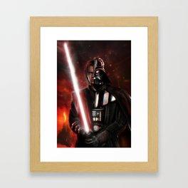 dark transition Framed Art Print