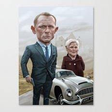 Skyfall James Bond - Daniel Craig Canvas Print