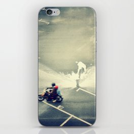 Riding on Paint iPhone Skin