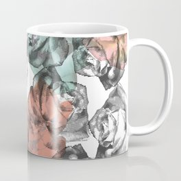 Etched Rose Coffee Mug