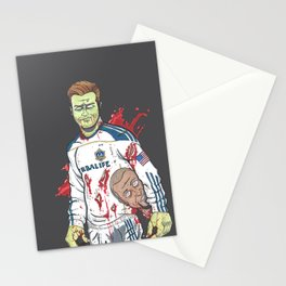Zombie Beckham Stationery Cards
