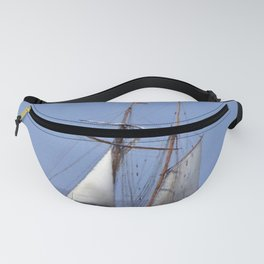 Tall ship Sailing the mighty Saint-Lawrence Fanny Pack