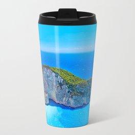 Navagio Beach Greece Travel Mug