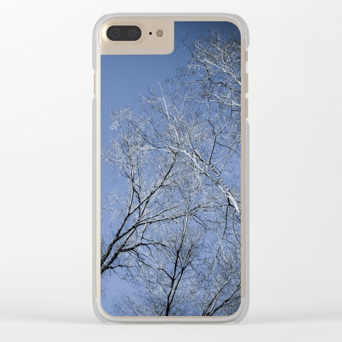 Landscape in the winter - 2 Clear iPhone Case