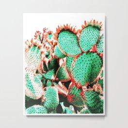 Cactus - watetcolor II Metal Print