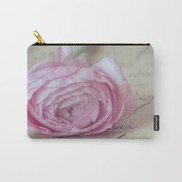 Love Letter With Ranunculus Carry-All Pouch