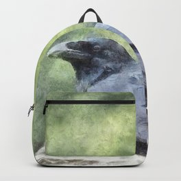 Crows Everywhere Are Equally Black Backpack