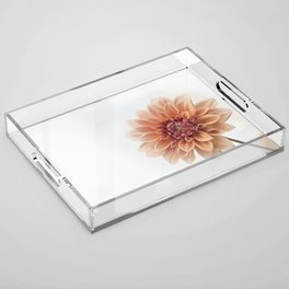 Dahlia Flower Acrylic Tray