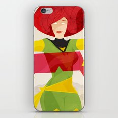 I'll just take these off for you. iPhone & iPod Skin