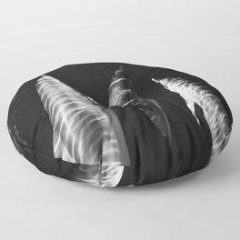 Zebra dolphins Floor Pillow