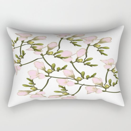 Pink Simplicity  Rectangular Pillow