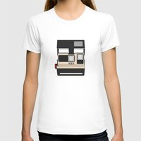 cameras T-shirts featuring Retro Cameras by Barbo's Art