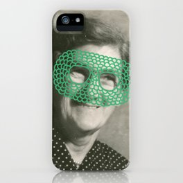 The Crochet Family 003 iPhone Case