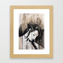 Opus amoris est maxima miseria Framed Art Print