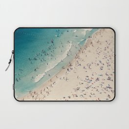 Beach Love VX aerial photography by Ingrid Beddoes Laptop Sleeve