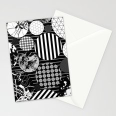 Eclectic Circles II Stationery Cards