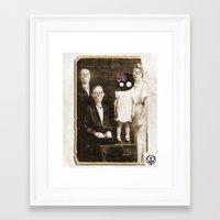 women Framed Art Prints featuring women by Seamless