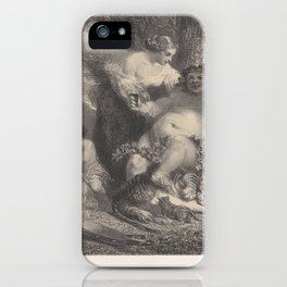 Intoxication,1858 iPhone Case