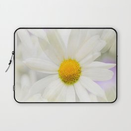 Daisy Flower Bouquet Pastel Color Background #decor #society6 #buyart Laptop Sleeve