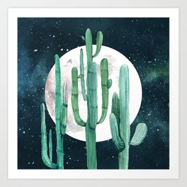 Desert Nights 2 Art Print