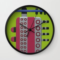 Indian woman with pink breasts Wall Clock