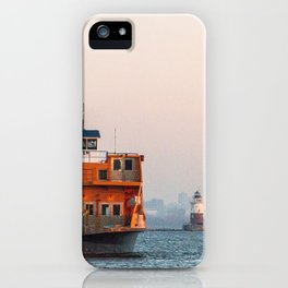 Lighthouse & Staten Island Ferry iPhone Case
