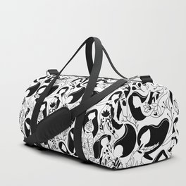 Floral woman. Duffle Bag