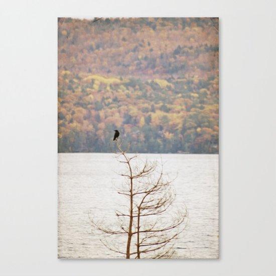 Fall Bird Canvas Print